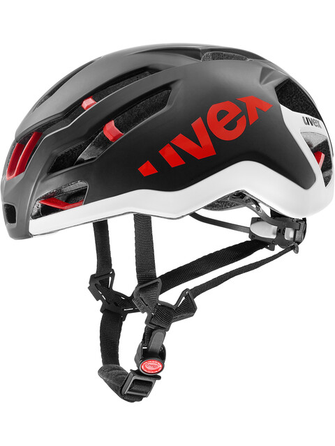 UVEX Race 9 Kask rowerowy czarny
